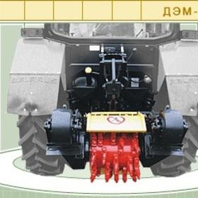 Устройство вала отбора мощности ВОМ трактора МТЗ-320 Беларус